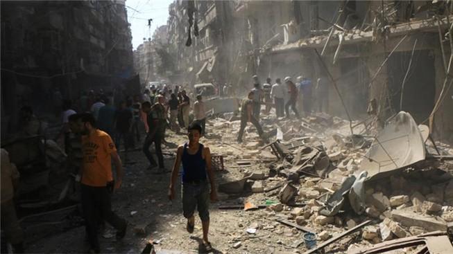 Phát hiện các tay súng tại Syria sử dụng khí mù tạt chết người