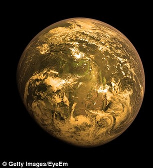 Ánh sáng màu cam là dấu hiệu sự sống ngoài không gian