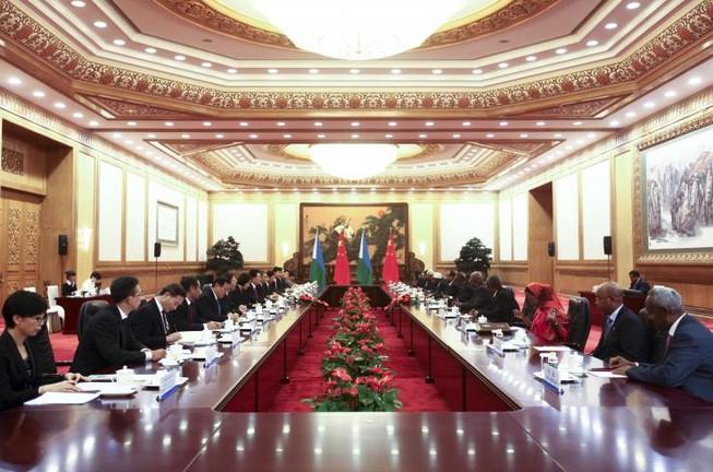 Trung Quốc xây căn cứ quân sự đầu tiên tại châu Phi
