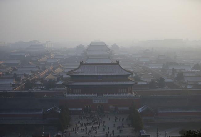 Sương mù ô nhiễm tại Trung Quốc lên mức kỷ lục của năm