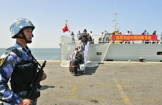 Trung Quốc xây căn cứ hải quân ở châu Phi