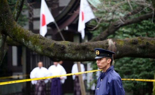 Nhật bắt nghi can Hàn Quốc vụ đánh bom nhà vệ sinh đền Yasukuni