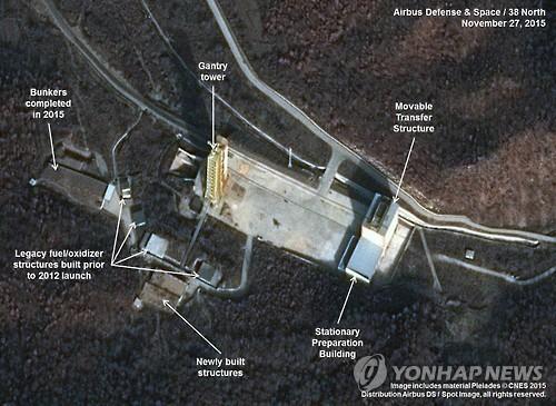 Triều Tiên sắp hoàn tất nâng cấp bãi phóng tên lửa