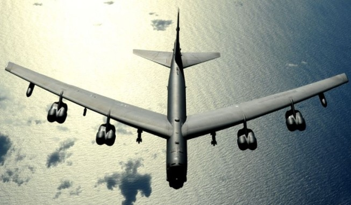 B-52 Mỹ bay sát đảo nhân tạo Trung Quốc xây trái phép ở biển Đông
