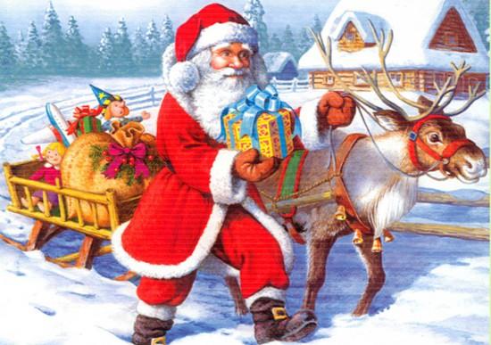 Giải mã sự thật về lịch sử Ông già Noel