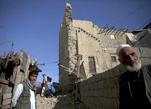 Xuất hiện động đất mạnh tại trung Á