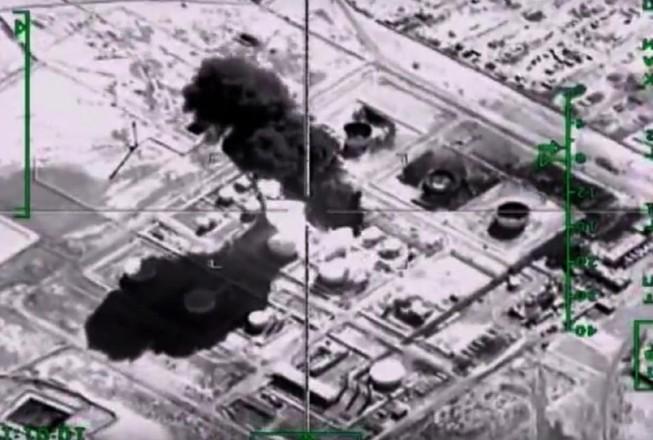 Chiến dịch không kích làm giảm việc tuồn dầu vào Thổ Nhĩ Kỳ