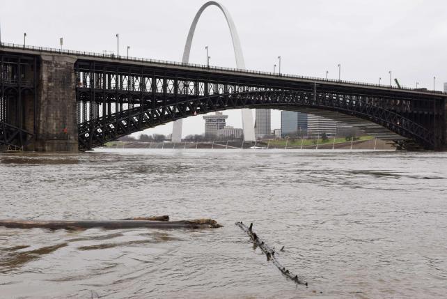 Lũ lụt đe dọa mạng sống của 9 triệu người dân Mỹ