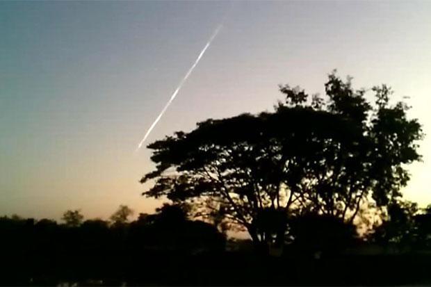 Thái Lan cũng xuất hiện nhiều vật thể lạ