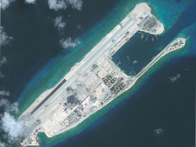 Mỹ phản đối Trung Quốc bay thử nghiệm ở Trường Sa