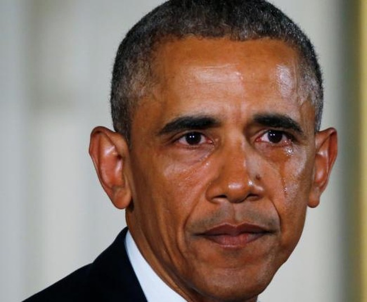 Giọt nước mắt của Tổng thống Obama