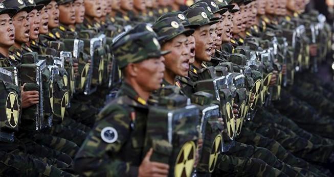 'Bình Nhưỡng tăng cường vũ trang vì đe dọa hạt nhân từ Mỹ'
