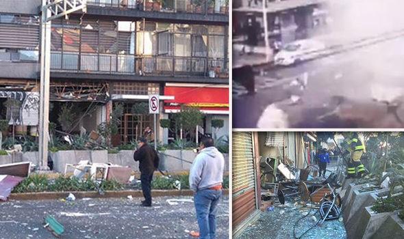 Nổ kinh hoàng tại nhà hàng Mexico, 11 người bị thương