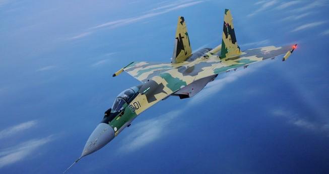 Nga chuẩn bị thử nghiệm chiến đấu cơ thế hệ mới Su-35S ở Syria