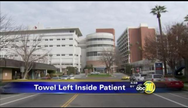 Phạt bệnh viện 86.000 USD vì quên khăn trong bụng bệnh nhân