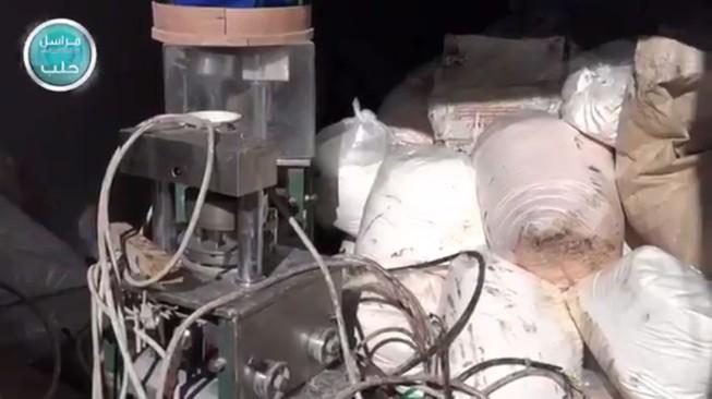 Phát hiện nhà máy sản xuất ma túy kiếm hàng triệu USD của IS