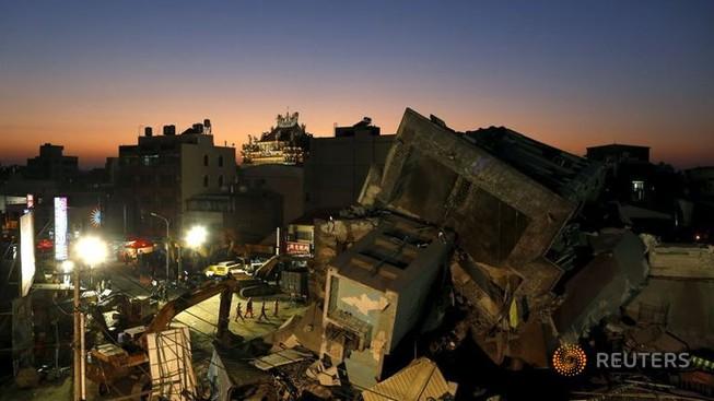 Vụ động đất Đài Loan: Số người chết có thể vượt mốc 100