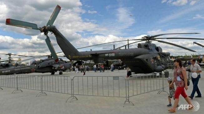 Trực thăng quân sự Nga rơi, 4 người thiệt mạng