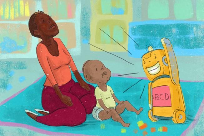 Đồ chơi biết nói có giúp trẻ phát triển ngôn ngữ?