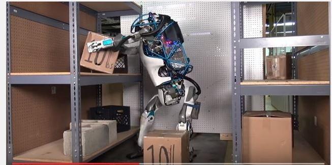 Xem Robot Atlas hình người hoạt động trên cả tuyệt vời