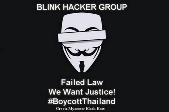 Tin tặc Myanmar tấn công chính phủ Thái Lan để trả thù  