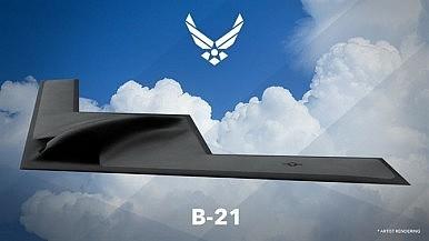 Mỹ công bố ảnh thiết kế máy bay ném bom mới B-21 