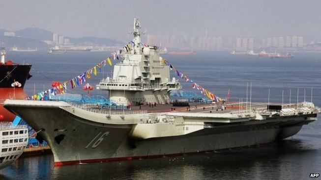 Tham vọng lập đội tàu sân bay 'khủng' của Trung Quốc