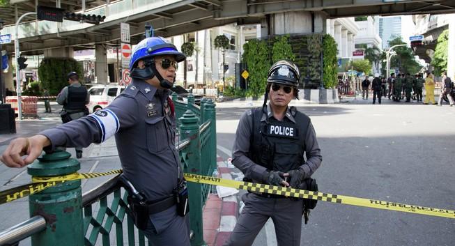 Đánh bom ở Thái Lan: 2 người chết, 8 người bị thương