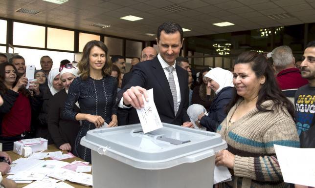 Syria bầu cử Quốc hội, phương Tây phản đối