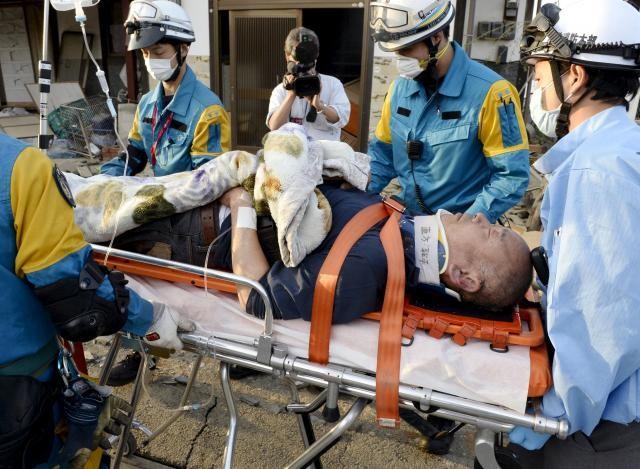 Nhật: Lại động đất lớn làm 26 người chết, hàng ngàn người bị thương