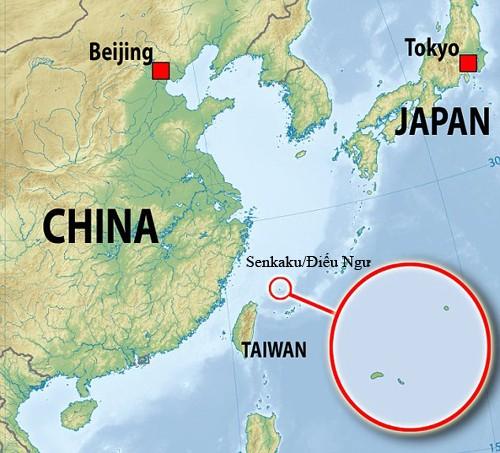 Trung Quốc bỏ tù gián điệp Senkaku/Điếu Ngư