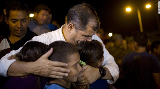 Ecuador dốc sức phục hồi đất nước sau trận động đất kinh hoàng