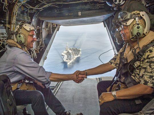 Quốc hội Mỹ đôn đốc tuần tra nhiều hơn ở biển Đông  
