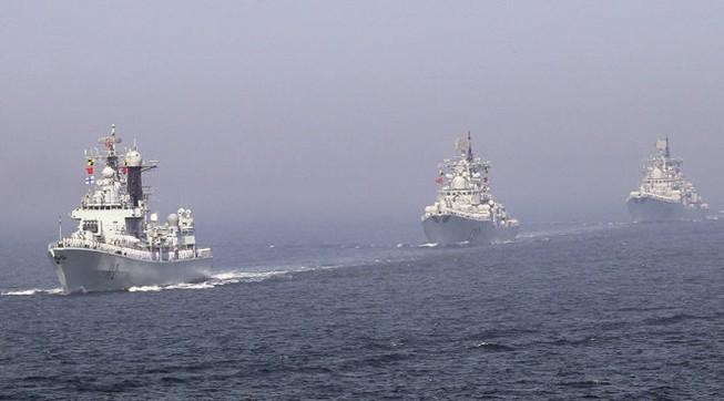 Tàu chiến Trung Quốc rời cảng đến biển Đông tập trận