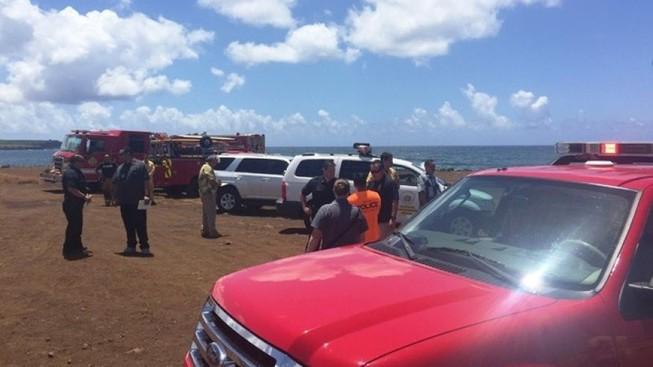 Máy bay Mỹ rơi ở Hawaii, 5 người chết  