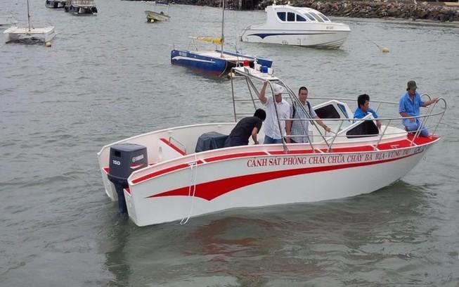 Bà Rịa-Vũng Tàu đề xuất đóng tàu cá bằng vật liệu mới