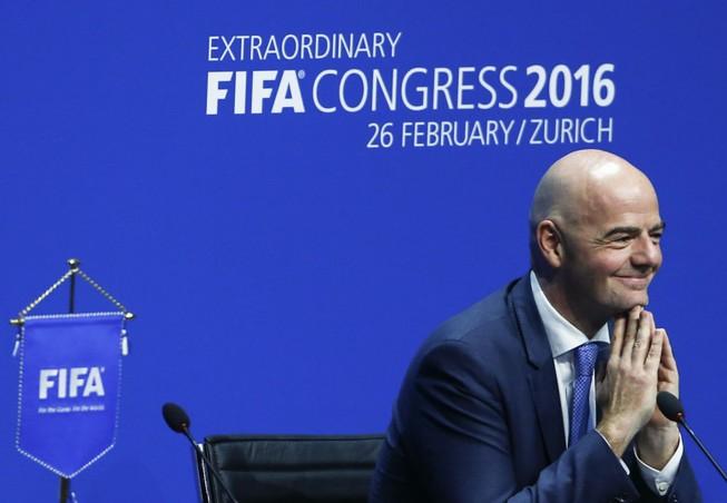 Sepp Blatter: 'Gianni đủ phẩm chất tiếp tục công việc của tôi'