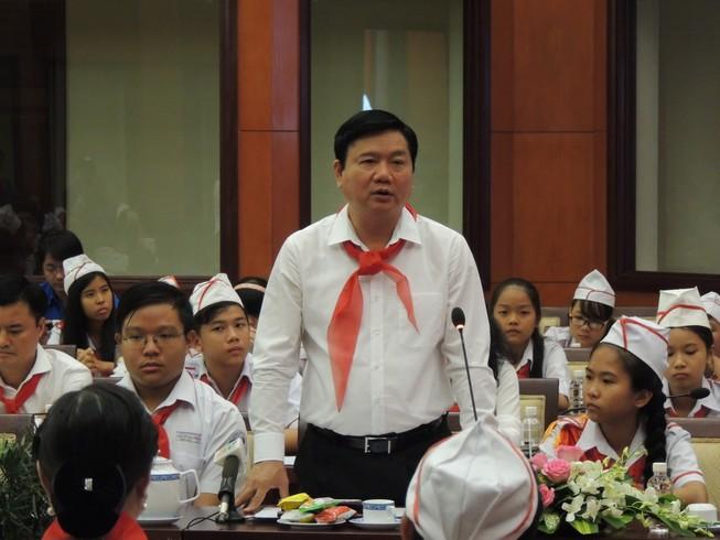 Bí thư Đinh La Thăng: Thiếu nhi TP.HCM phải có thương hiệu riêng