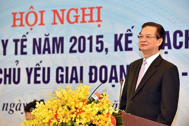 Thủ tướng Nguyễn Tấn Dũng: Gần 46% nước thải y tế đi đâu?