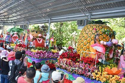 'Lễ hội Trái cây Nam Bộ 2016': Phong phú, đa dạng đủ loại trái cây