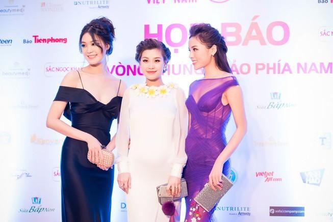 Dàn hoa hậu, người đẹp đọ sắc trước 'Hoa hậu Việt Nam 2016'