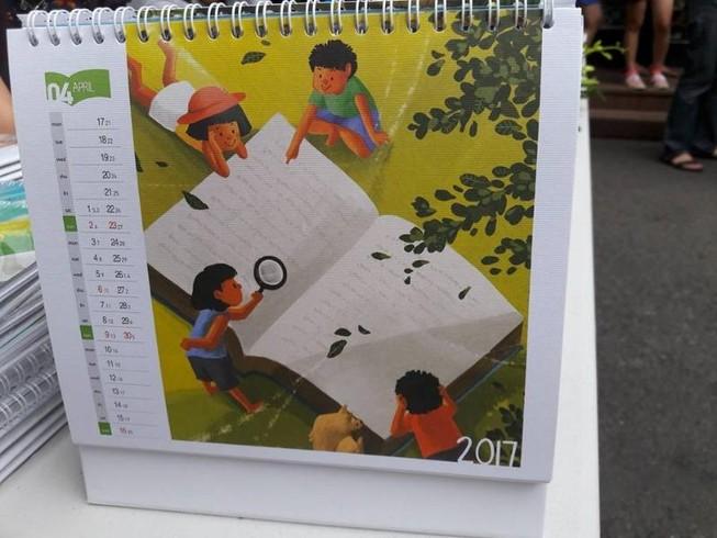 10 triệu đồng một quyển lịch… khuyến đọc