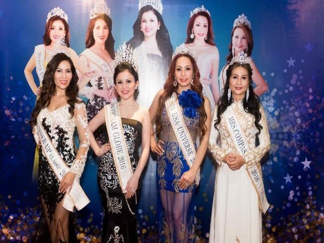5 hoa hậu, á hậu quý bà về nước làm từ thiện  
