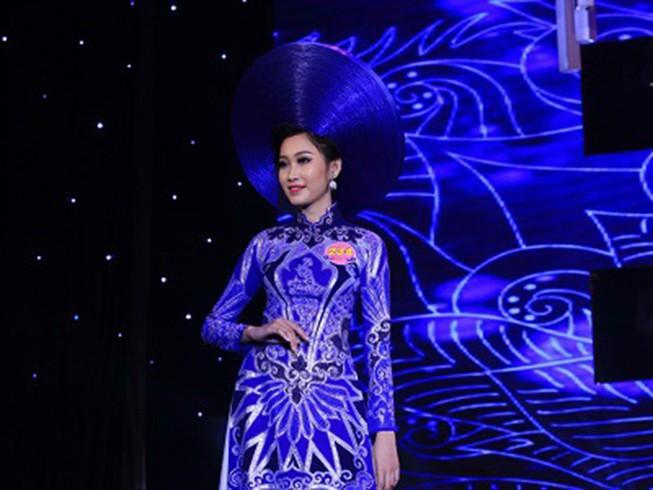 Đoàn Thị Hồng Trang đăng quang Hoa khôi miền Trung 2016