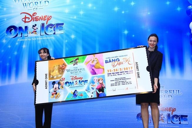 Show diễn 1 triệu USD của Disney On Ice tại VN