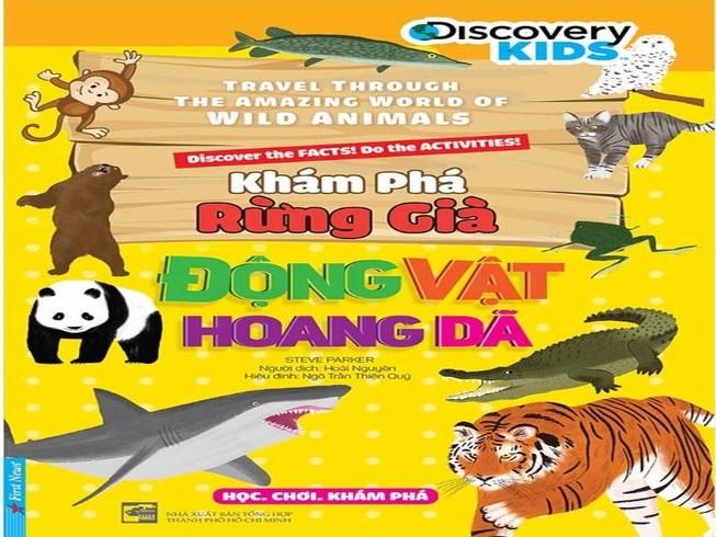 Ra mắt bộ sách giúp trẻ khám phá thiên nhiên hoang dã