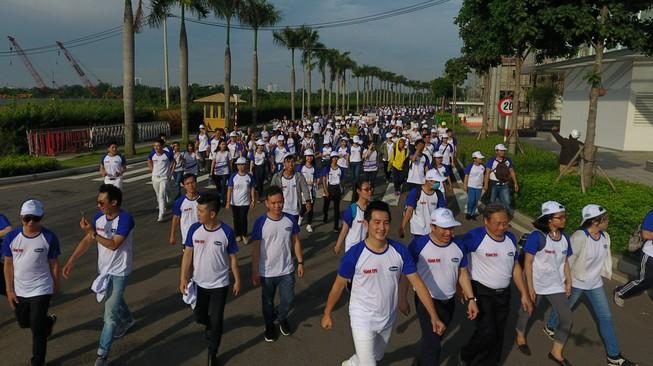 """Phong trào đi bộ """"10.000 bước chân"""""""