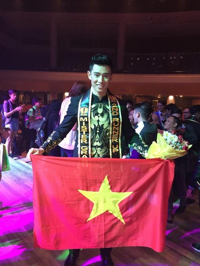 Tiến Đạt trở thành á vương Mister Grand International