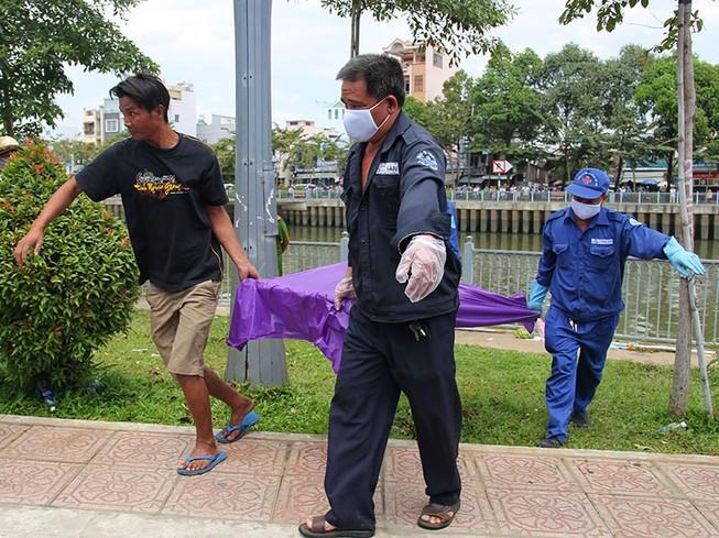 Phát hiện thi thể nữ nổi trên kênh Nhiêu Lộc - Thị Nghè