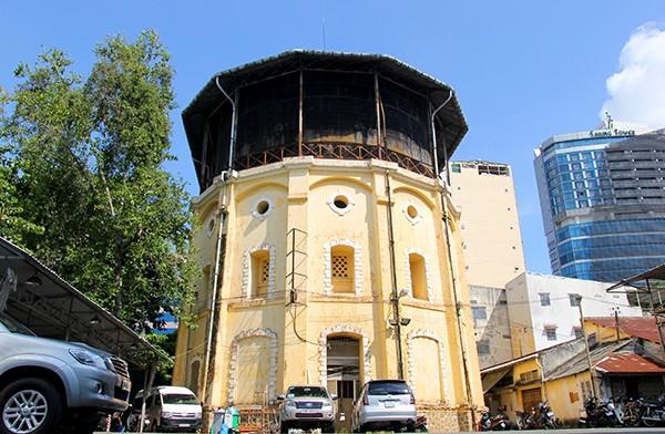 Thủy đài khổng lồ hơn 1 thế kỷ ở Sài Gòn